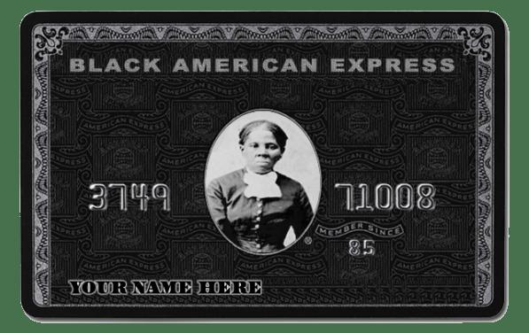 Melanin Valley Black American Express Card