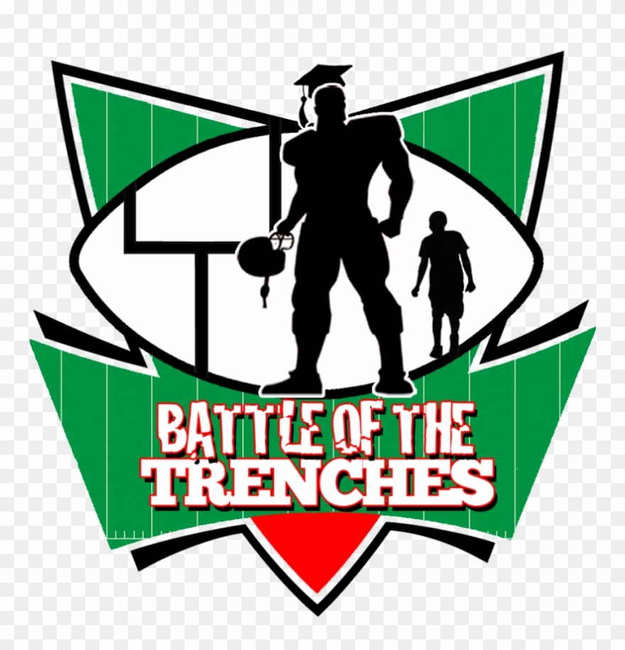 NFL Alumi Association Logo - Battle of the Trenches